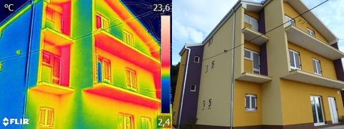 Termografija u građevinarstvu